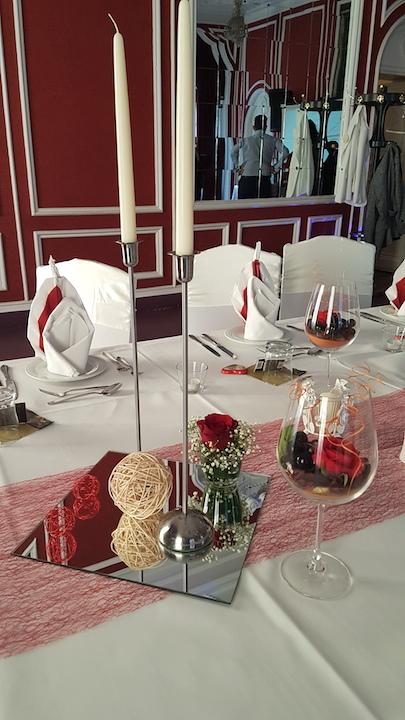 Deko-Hochzeit-Restaurant