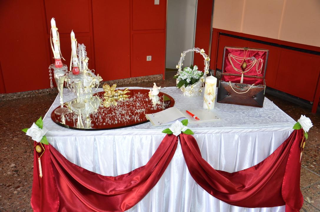 Gästetisch-Hochzeitsdeko