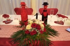 Brauttisch-Hochzeit