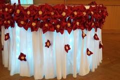 Geschenktisch-Hochzeitsdeko
