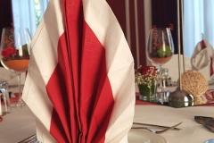 Hochzeitsdeko-Bordeaux