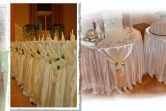 Creme-Hochzeitsdekoration-Dresden