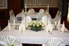 Gästetisch-Hochzeit-Creme