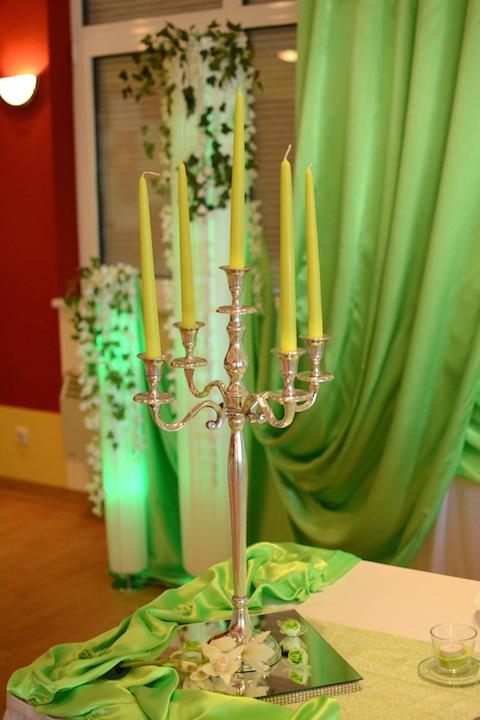 Hochzeit-Kerzenständer