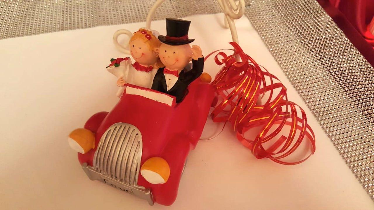 Hochzeitsdeko-Brautpaar