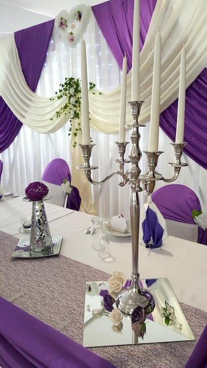 Hochzeitsdeko-Tischdeko