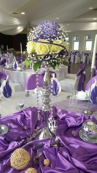 Hochzeitsdekoration-Floristik