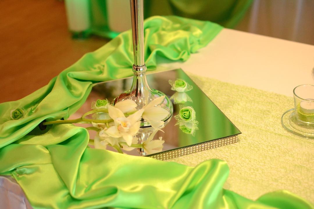 Tischdeko-Hochzeit