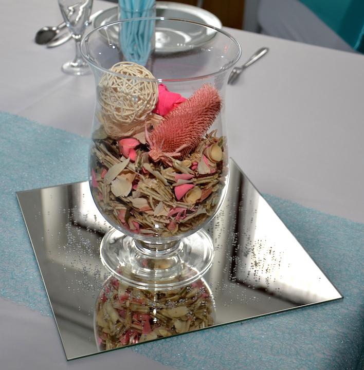 Tischdekoration-Hochzeit
