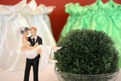 Hochzeit-Deko-Figur