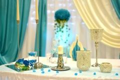 Hochzeit-Dekoelemente