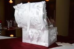 Hochzeit-Geschenktruhe