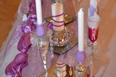 Hochzeit-Lila
