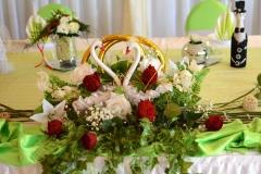 Hochzeit-Tischdeko