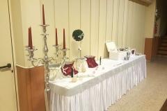 Hochzeitsdeko-Kerzenständer-Deko