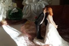 Hochzeitsdeoration-Braun