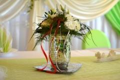 Floristik-Hochzeitsdeko