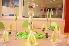 Gästetisch-Grün-Hochzeit