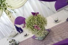 Hochzeit-Floristik-Deko
