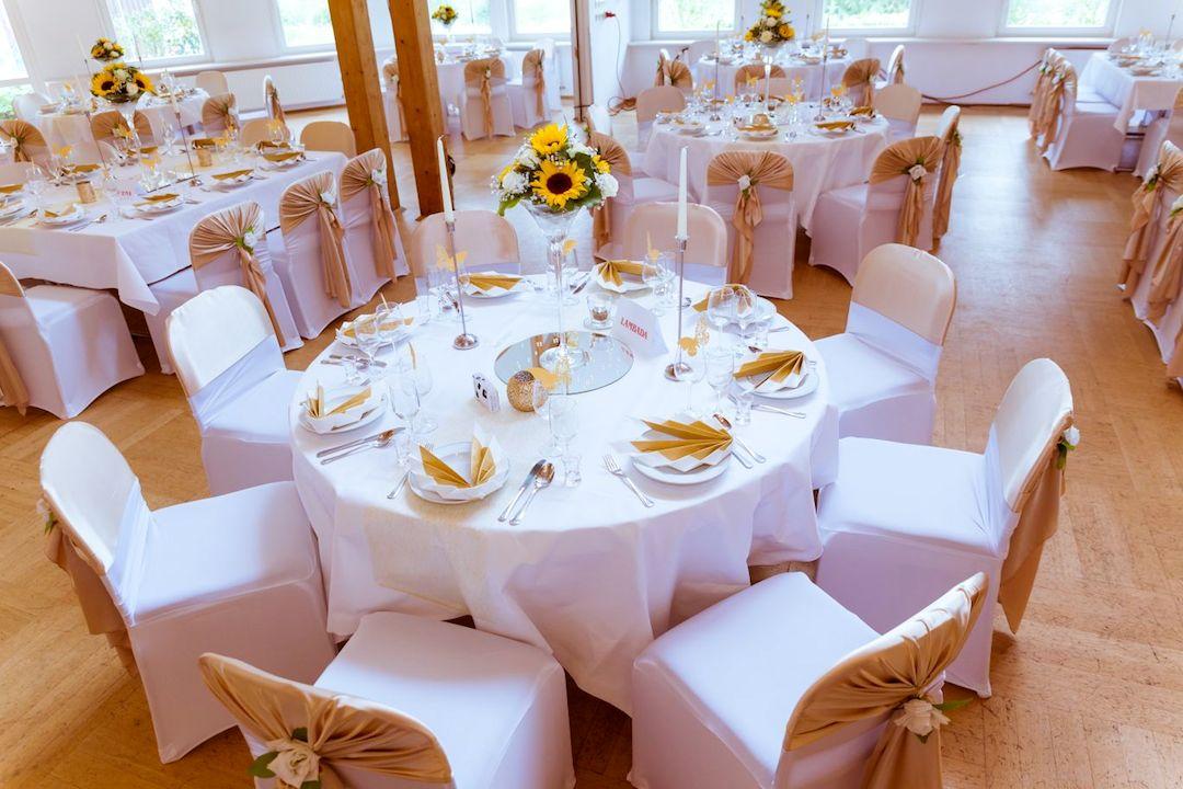 Gold-Event-Hochzeit-Dekoration