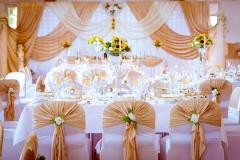 Gold-Dekoration-Event-Hochzeit