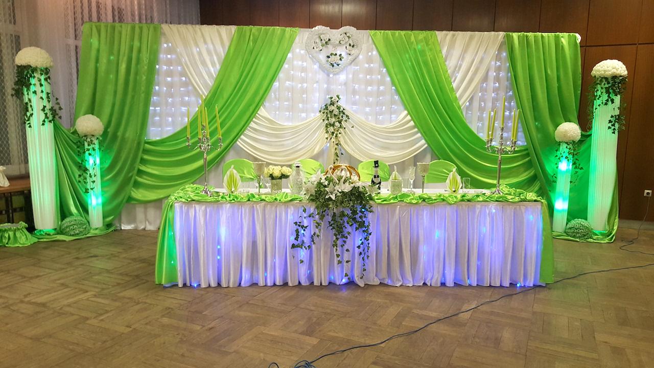 Grün-Hochzeitsdekoration-Sachsen