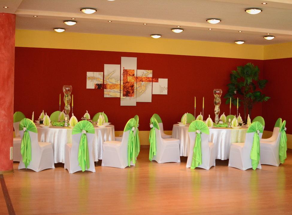 Hochzeitsdeko-Grün
