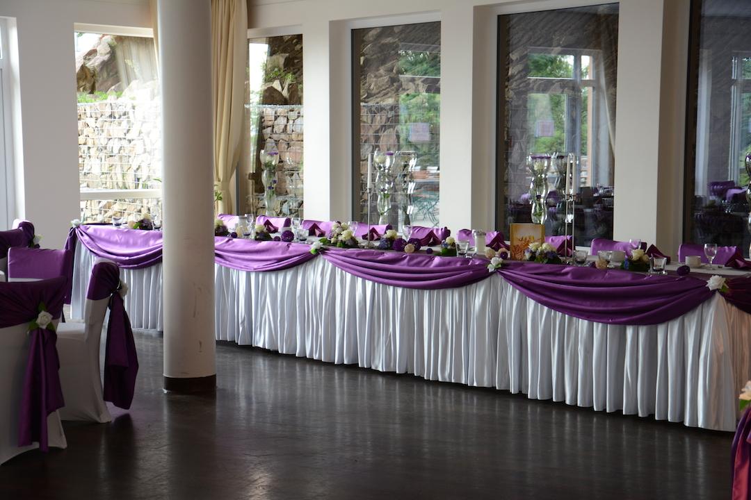 Braupaartisch-Hochzeit