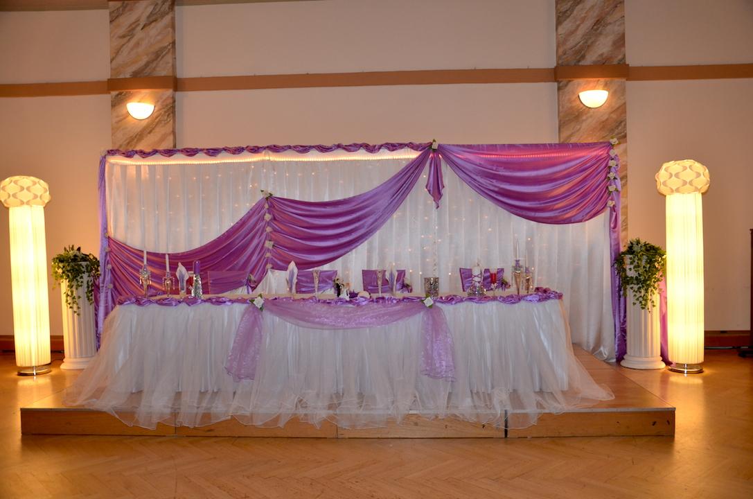 Hochzeitsdekoration-Hintergrund