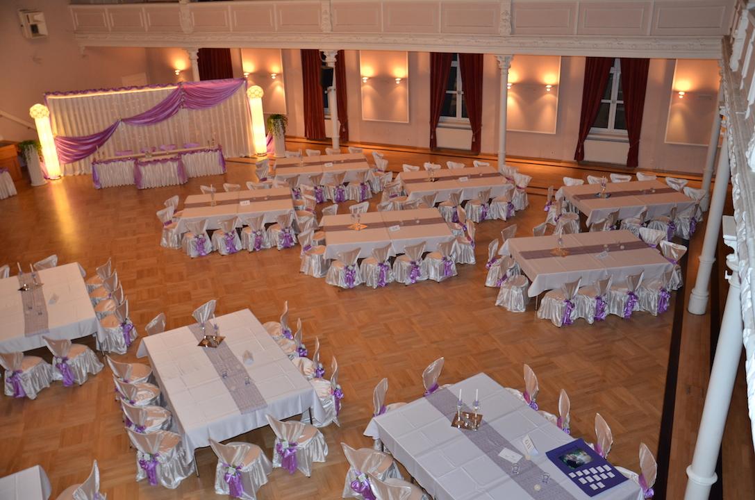Hochzeitsdekoration-Lila-Dresden