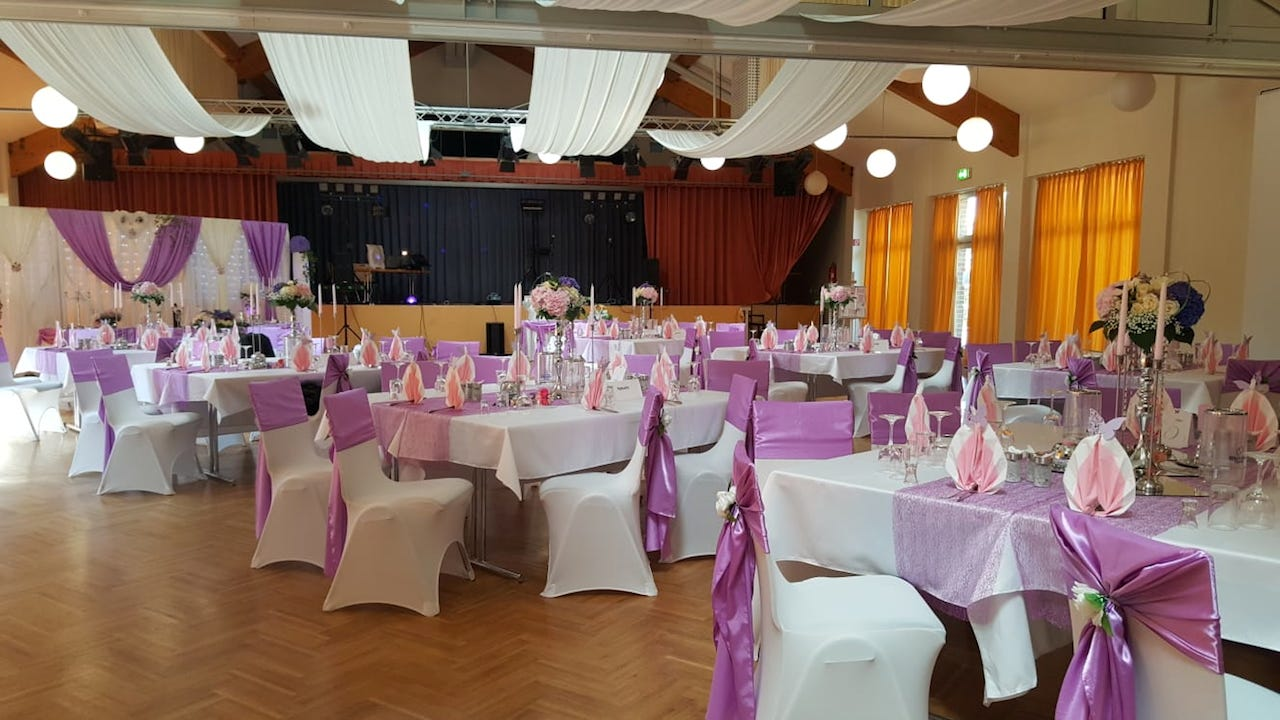 Sachsen-Hochzeitsdekoration