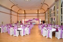 Dresden-Hochzeitdekoration-Lila