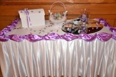 Geschenktisch-Hochzeitsdekoration
