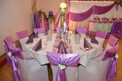 Hochzeitsdeko-Gästetisch