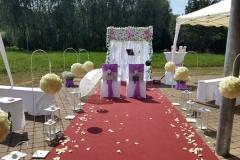 Hochzeitsdeko-Outdoor