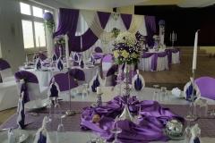 Hochzeitsdekoration-Gästetisch