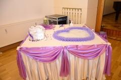 Hochzeitsdekoration-Geschenktisch