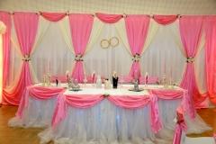 Hochzeitsdeko-rosa