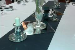 Hochzeitsdekoration-Tisch