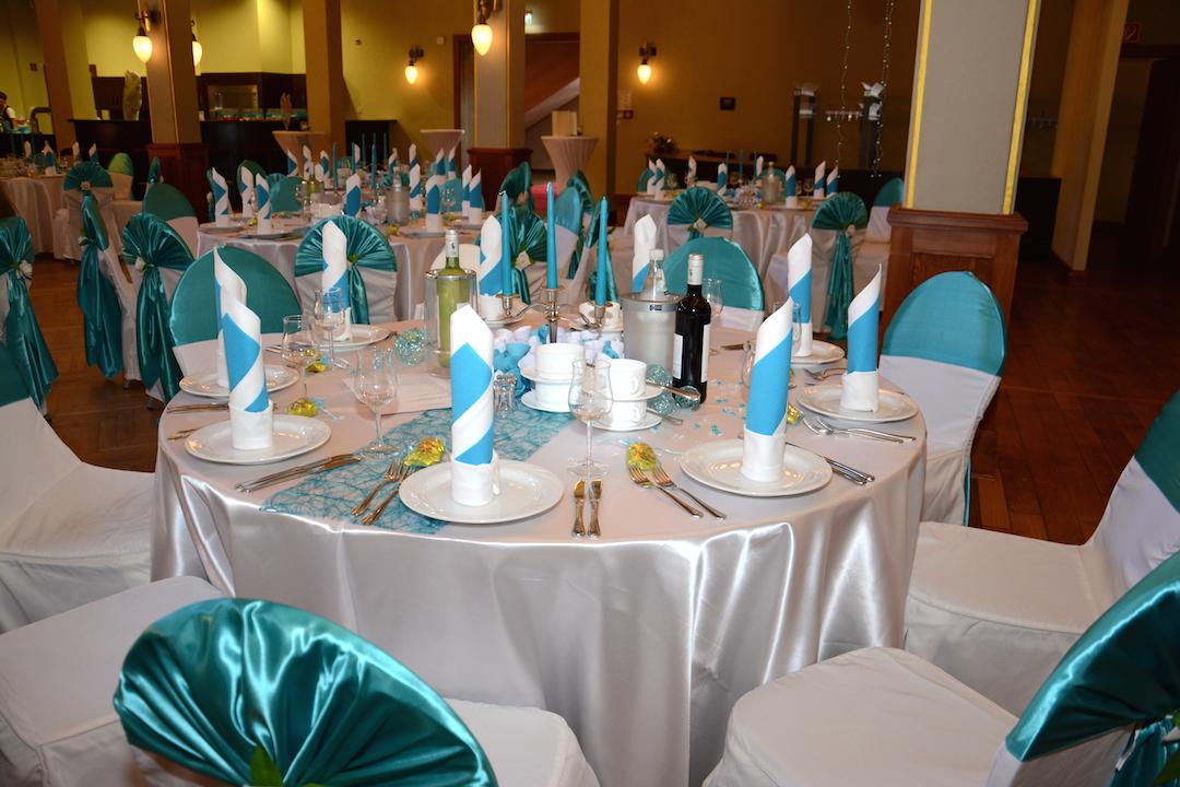 Gästetisch-Türkis-Hochzeit