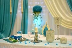 Deko-Türkis-Hochzeit
