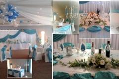 Dekoration-Hochzeit-Türkis