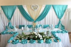 Türkis-Hochzeitsdekoration-Dresden