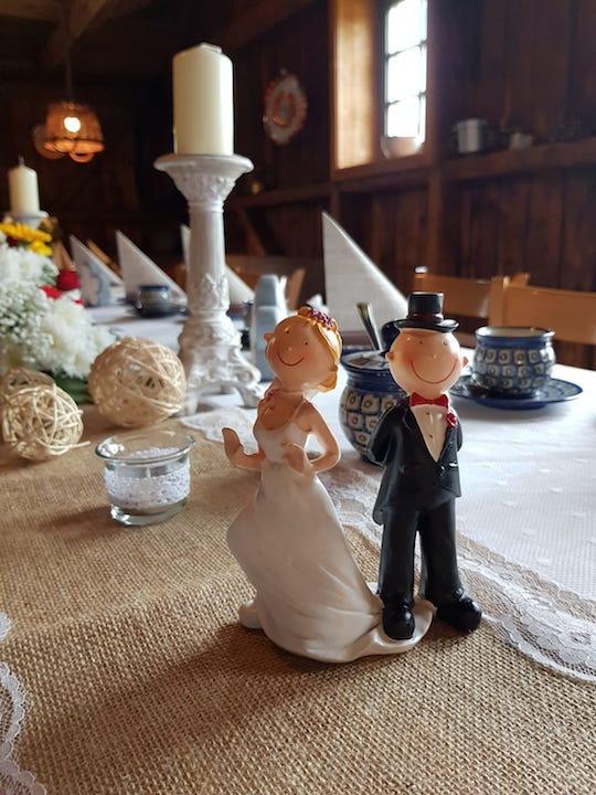 Deko-Hochzeit-Vintage