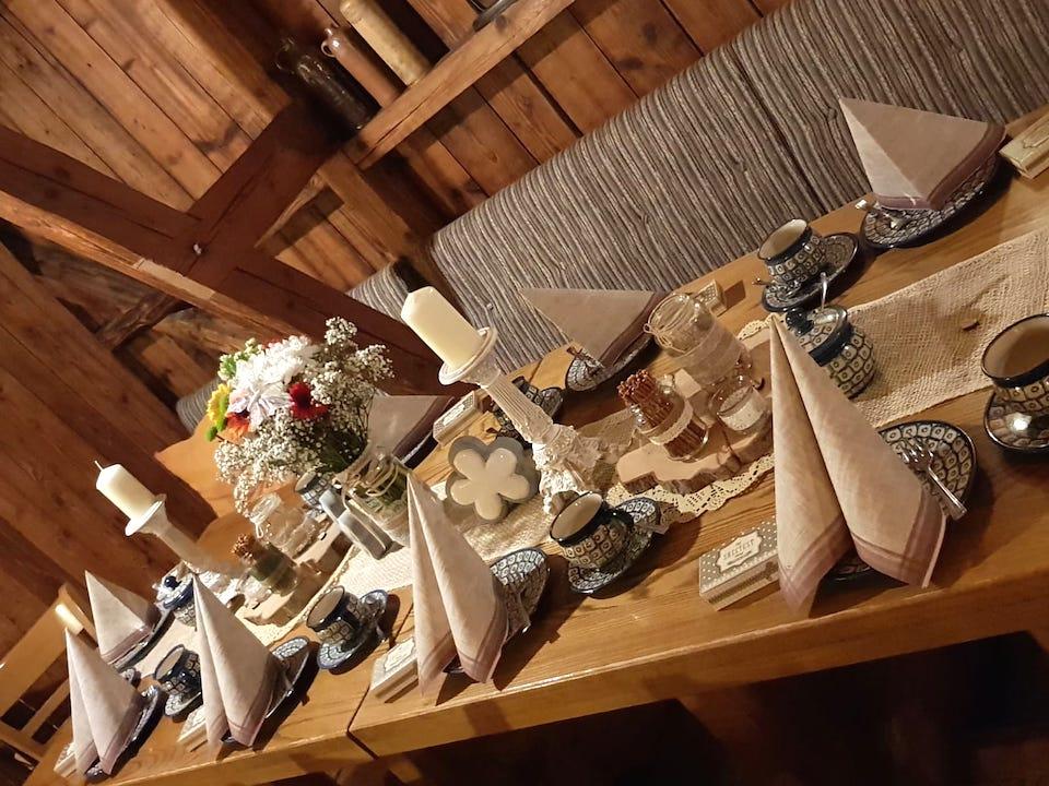 Dekoration-Vintage-Hochzeit