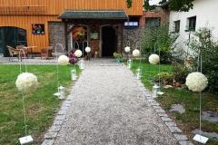 Vintage-Hochzeit-Deko