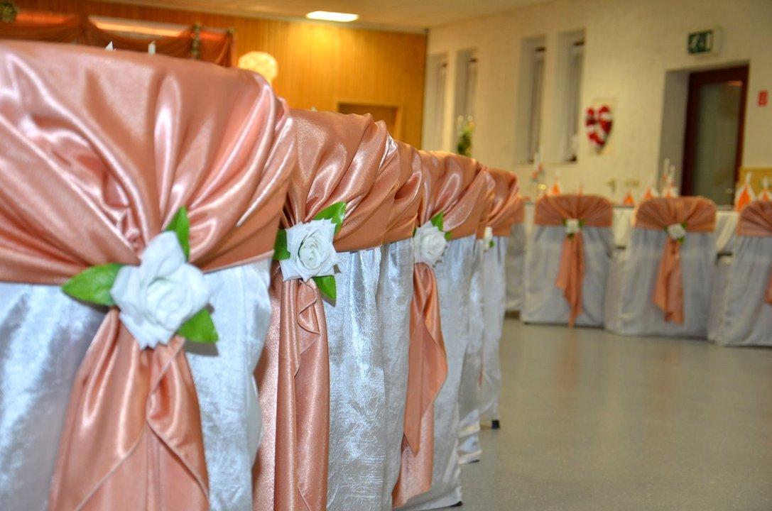Deko Hochzeit Pfirsich