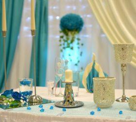 Deko Türkis Hochzeit